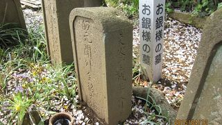 お銀さまの墓
