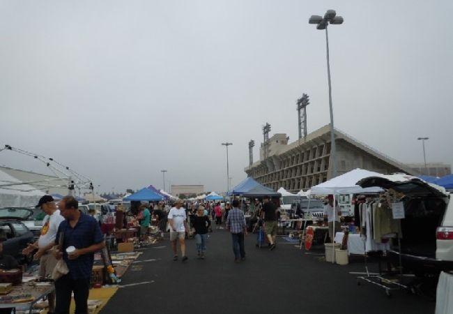 ロングビーチ アンティークマーケット