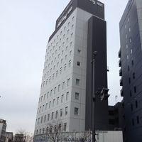 岐阜駅から少し離れていますが、綺麗なホテルでした。