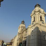 ペルーの代表的な教会です。