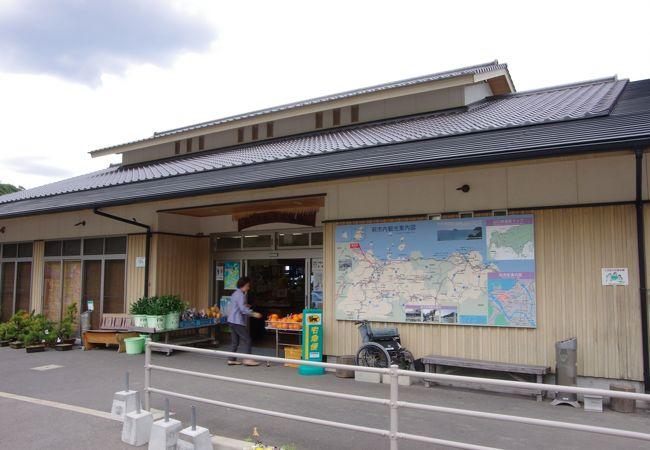 さんさん三見は海の幸と山の幸があふれた絶景の道の駅でした
