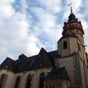 ドイツ統一へのねがいが発信された教会