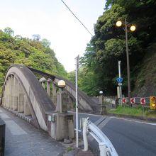 箱根湯本側からの橋
