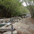 写真:久渡の沢釣り場