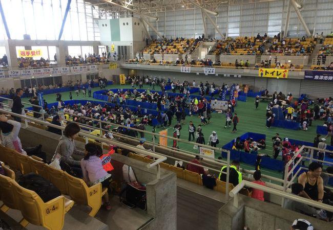 富山県随一のスポーツ施設