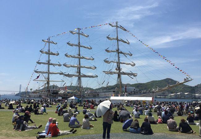 長崎帆船まつりでございます