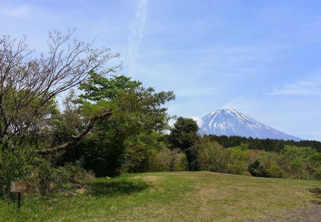 夜の星は満天に!自然豊かで雄大な富士山がきれいなキャンプ場