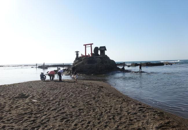 西番神海水浴場
