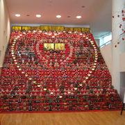 三十段飾り千体の雛祭り