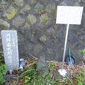 写真:河野寿大尉自決の地
