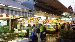 (香港)ウェットマーケットとフィッシュマーケット