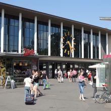 ヴュルツブルク駅舎