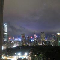 香港島方向を望む夜景