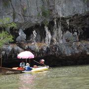 タイのプーケット島 (10) パンガー湾をクルーズ