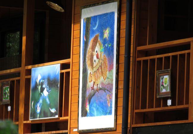 安曇野ビンサンチ美術館