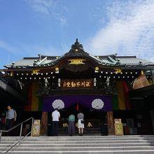 近代的なお寺