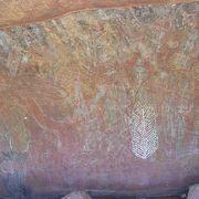 アボリジニの聖地や壁画を巡る