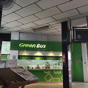 チェンマイからはグリーンバスで