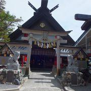 富士山5合目にある神社です。