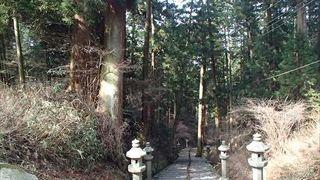 参道は、山林の中を歩き、深い山々を歩きまわる事のできるそんな場所です。緑の中をウオーキング感覚で歩けるので、楽しみながら歩けます。