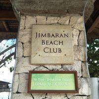 ホテルのビーチクラブ