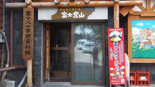 富士火山学術資料館