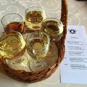 ワイン5種類のテイスティングセット