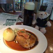 ドイツ料理が食べられるビアレストラン