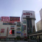 相模大野駅前の複合ビルです。