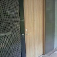 入口ドアです。