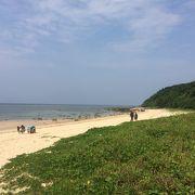 雄大な砂浜