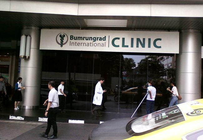 外国人に最も人気のある病院