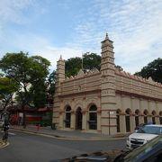 かわいいイスラム寺院。