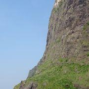 國賀海岸に在る国内最大級の断崖です。
