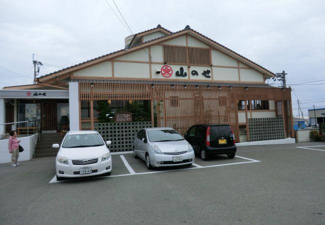 徳島最後の食事は「たらいうどん」 徳島空港へ行く途中にあり。