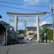 佐原の諏訪神社