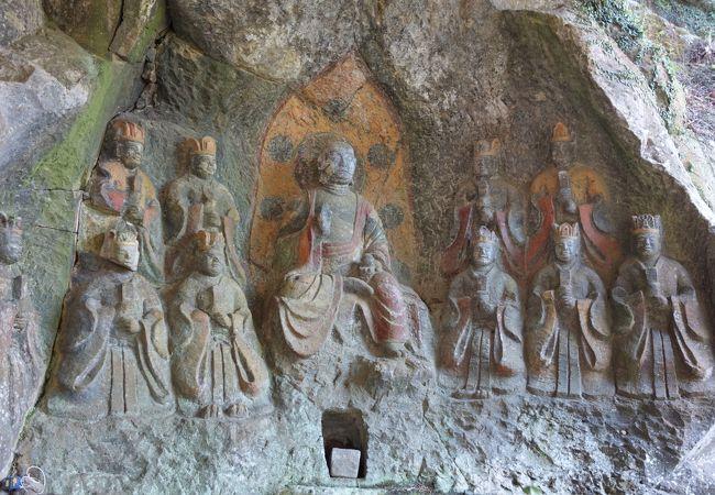 ホキ石仏第一群第四龕