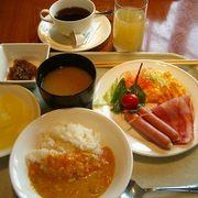 立派なシティホテルの,質の高い朝食!