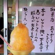 レモングラス、武雄レモンのかき氷
