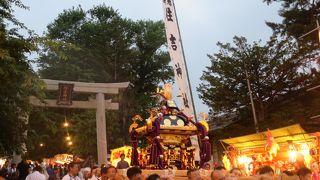 住吉神社例大祭 (小樽まつり)