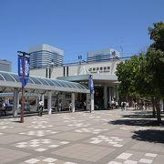 三井アウトレットパークに隣接する駅