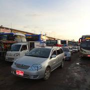 ヤンゴン市内からは時間に余裕をもって