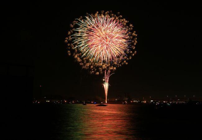 岸和田港まつり花火大会
