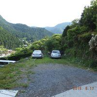 駐車場は山の上だった