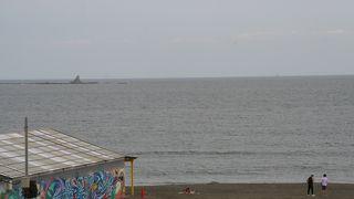 梅雨のサザンビーチちがさき