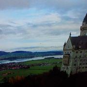 ノイシュバンシュタイン城そばの湖。