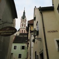 聖ヴィート教会やスヴォルノステイ広場に近いこじんまりとした宿