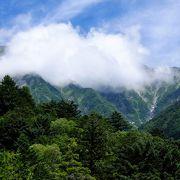 上高地からの風景、そして山