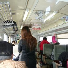 乗客のほとんどが台湾人観光客!