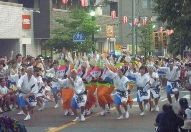 相模原の夏の4大祭りの1つ